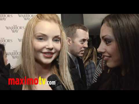 "IZABELLA MIKO Interview at ""The Warrior's Way"" Los Angeles Screening"