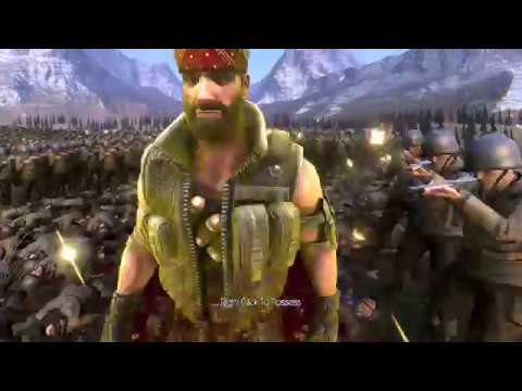Chuck Norris vs 20000 US SOLDIERS - Ultimate Epic Battle Simulator