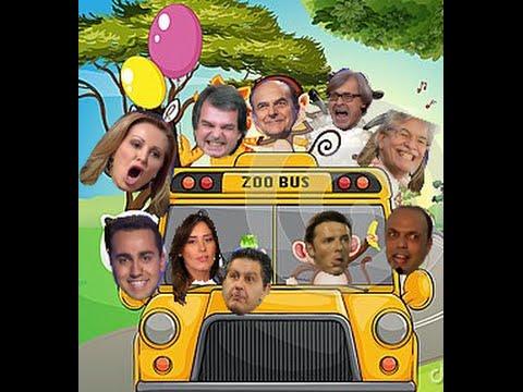 Zoo politico parodia politici italiani video divertenti for Lista politici italiani