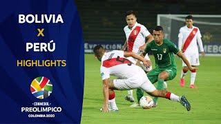 Bolivia 2-1 Perú l  Preolímpico 2020