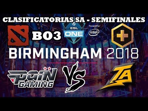 DOTA 2 EN VIVO - Pain Gaming vs Thunder Predator BO3 Clasificatorias SA Major Birmingham 2018