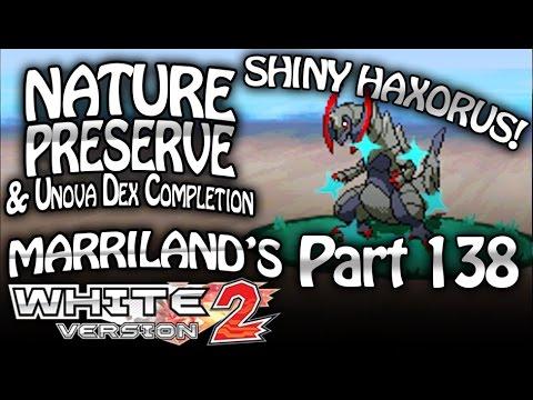 Pokémon White 2, Part 138: Nature Preserve & Where To Find ALL Pokémon For The Unova Pokédex