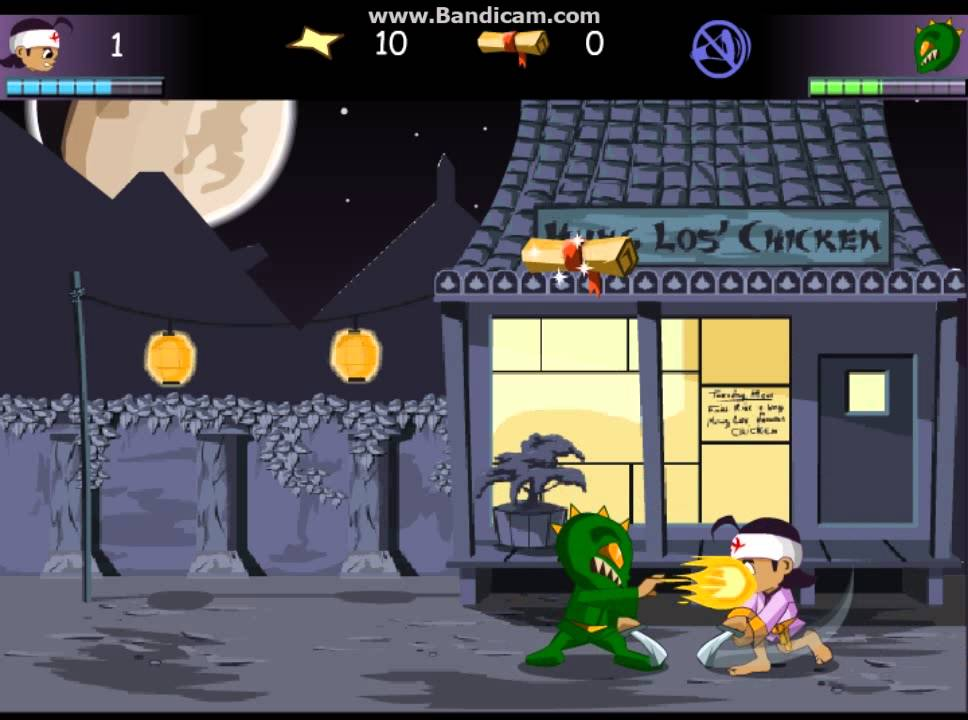 3 food ninja flash game youtube - Cuisine flash but ...