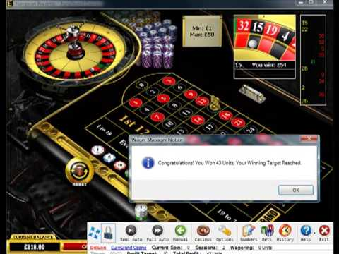 New Progressive Betting Roulette System Software Spin4Profit Deluxe Tutorial