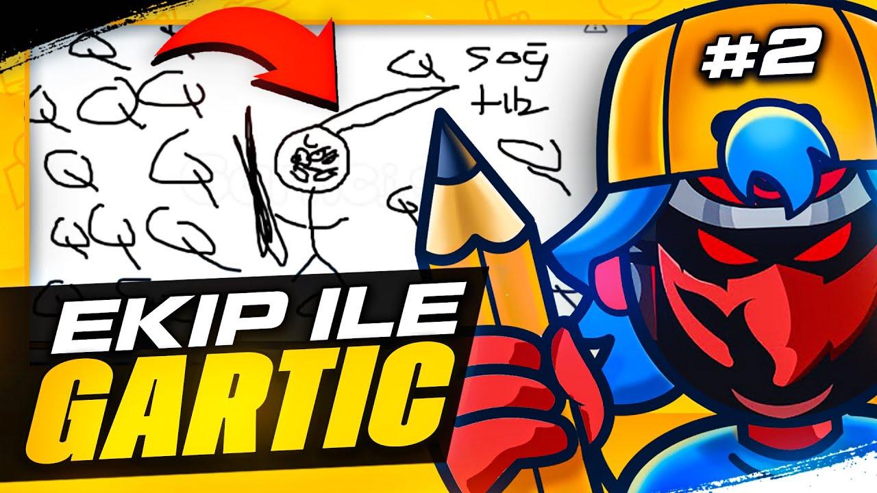 EKİPLE GARTIC.IO PART #2 | Adroit
