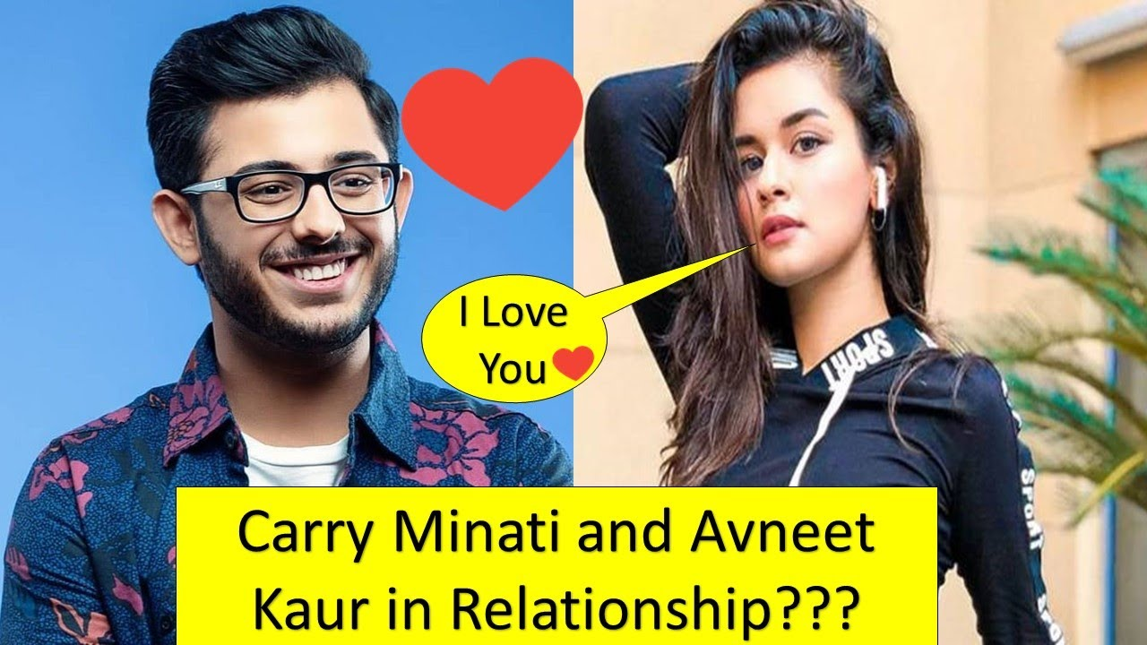 Carry Minati and Avneet Kaur in Relationship? What is full story,  Explained! | Ghost gaming Yt | - YouTube