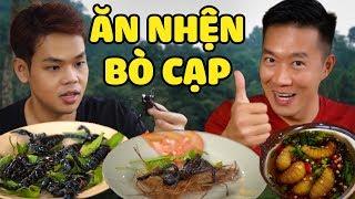 Ăn thử NHỆN, BÒ CẠP và các loại CÔN TRÙNG cùng anh Challenge Me (Oops Banana)