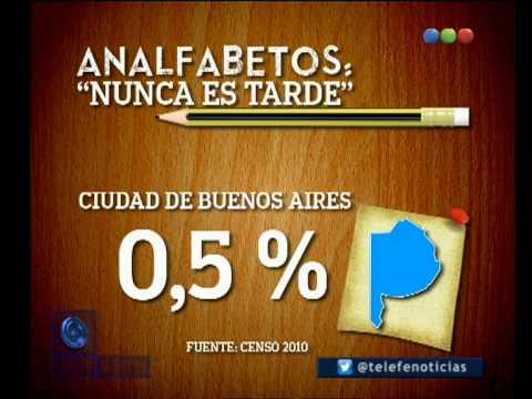 El analfabetismo en Argentina - Telefe Noticias