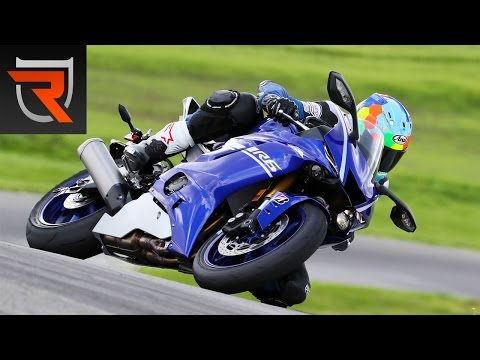 2017 Yamaha YZF-R6 First Test Review Video | Riders Domain