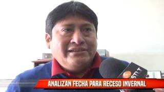ANALIZAN FECHA PARA RECESO DE INVIERNO