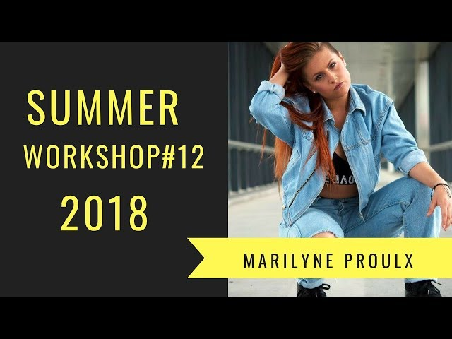 Bruno Mars ft Cardi B - Finesse | Summer Workshop 2018 | Marilyne Proulx