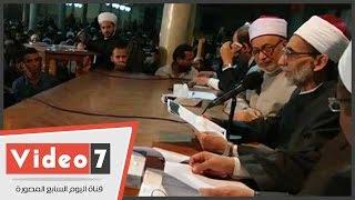 بالفيديو.. انطلاق مجلس المحدثين بالجامع الأزهر وسط حضور المئات من الطلاب