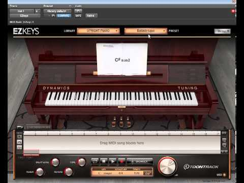 Review Of Toontrack EzKeys Grand Piano And Upright Piano Expansion