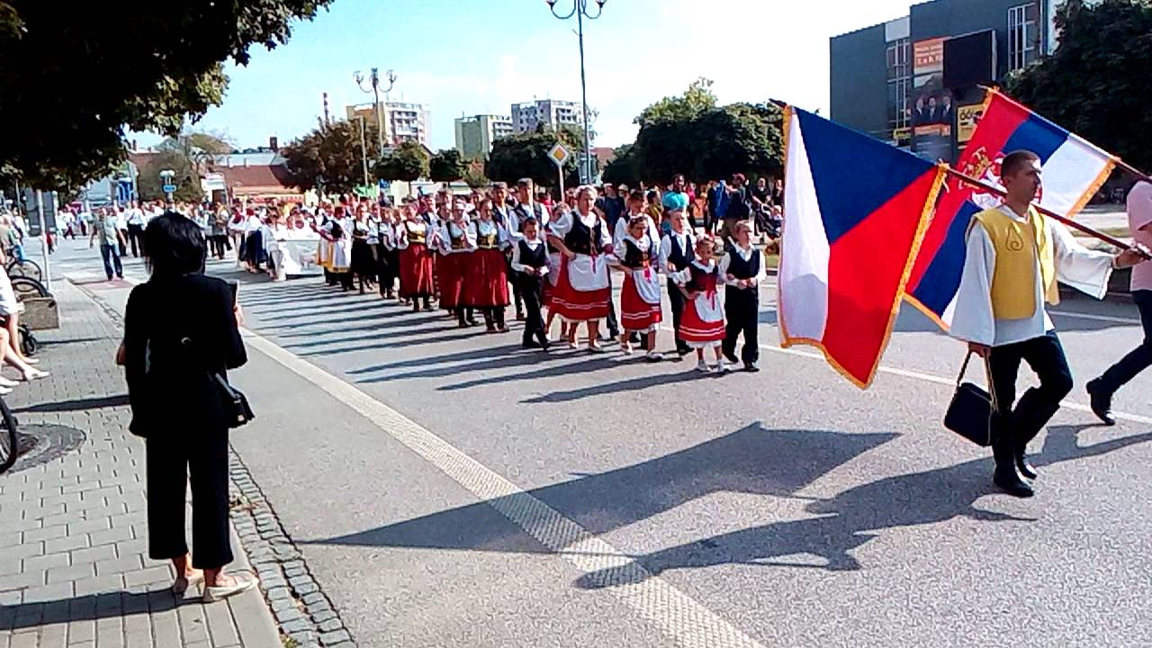 XXV. Břeclavské svatováclavské slavnosti 2016 - krojovaný průvod