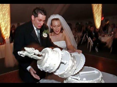 Самые неудачные свадебные торты