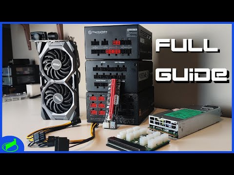 Using ATX Powersupplies For Your Mining Rig FULL GUIDE