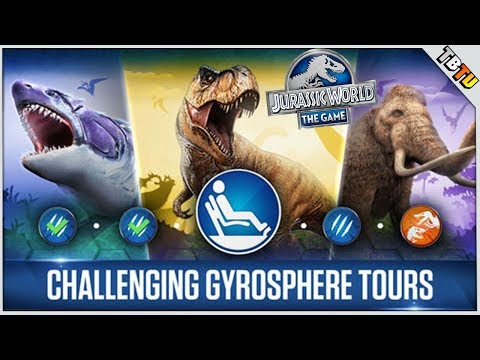 Jurassic World The Gamed E5  - New Dinosaurs, PVP and Gyrosphere gameplay!