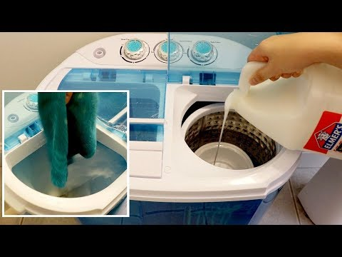 Testing + Making Fluffy Slime in a Mini Portable Washing Machine (Worth it?)