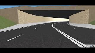 Civil Site Design - Tunnel Example