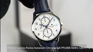 Maurice Lacroix Pontos Automatic Chronograph PT6388-SS001-120-4