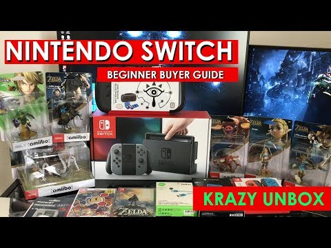 Nintendo Switch:  Beginner Buyer's Guide