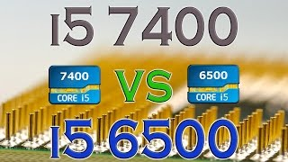 i5 7400 vs i5 6500 benchmarks gaming tests review and comparison kaby lake vs skylake
