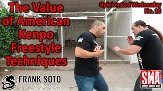 The Value of American Kenpo Freestyle Techniques
