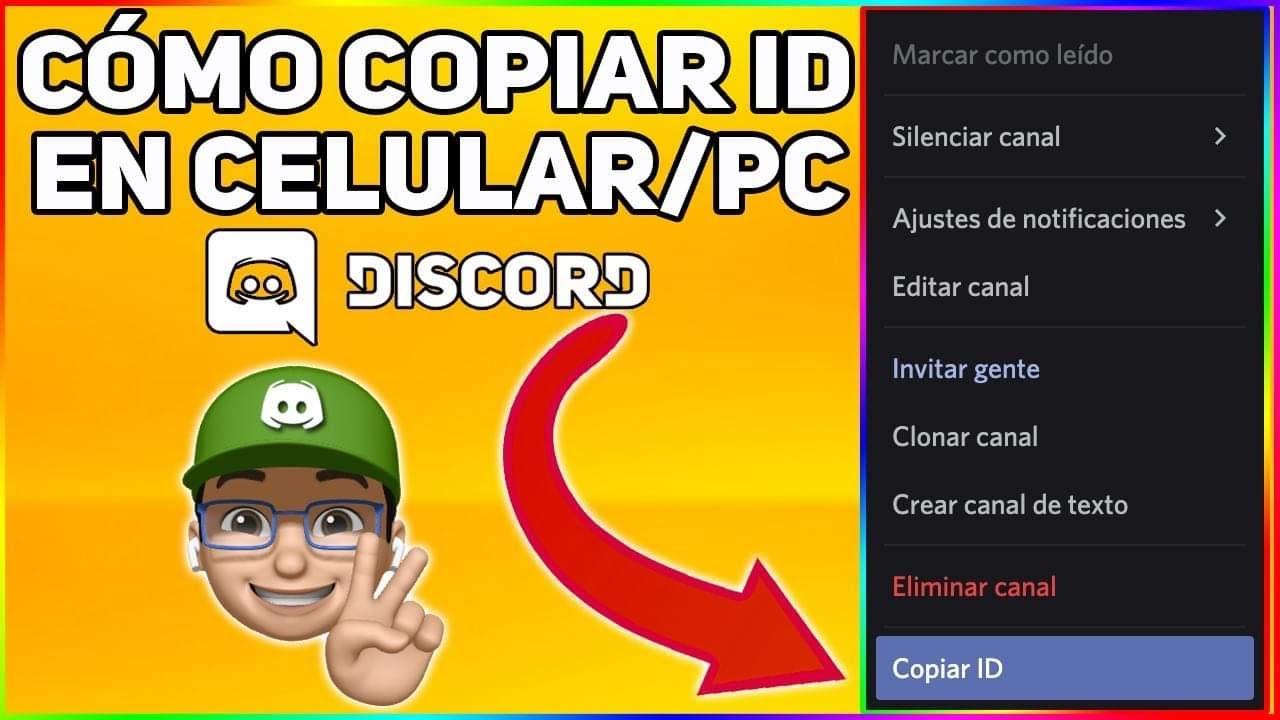 Cómo Copiar ID Discord En Celular Y PC 2021