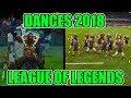 DANCE REFERENCES 2018 - LEAGUE OF LEGENDS (Pyke, Kai'sa, Darius, Garen, Swain Rework, Galio)