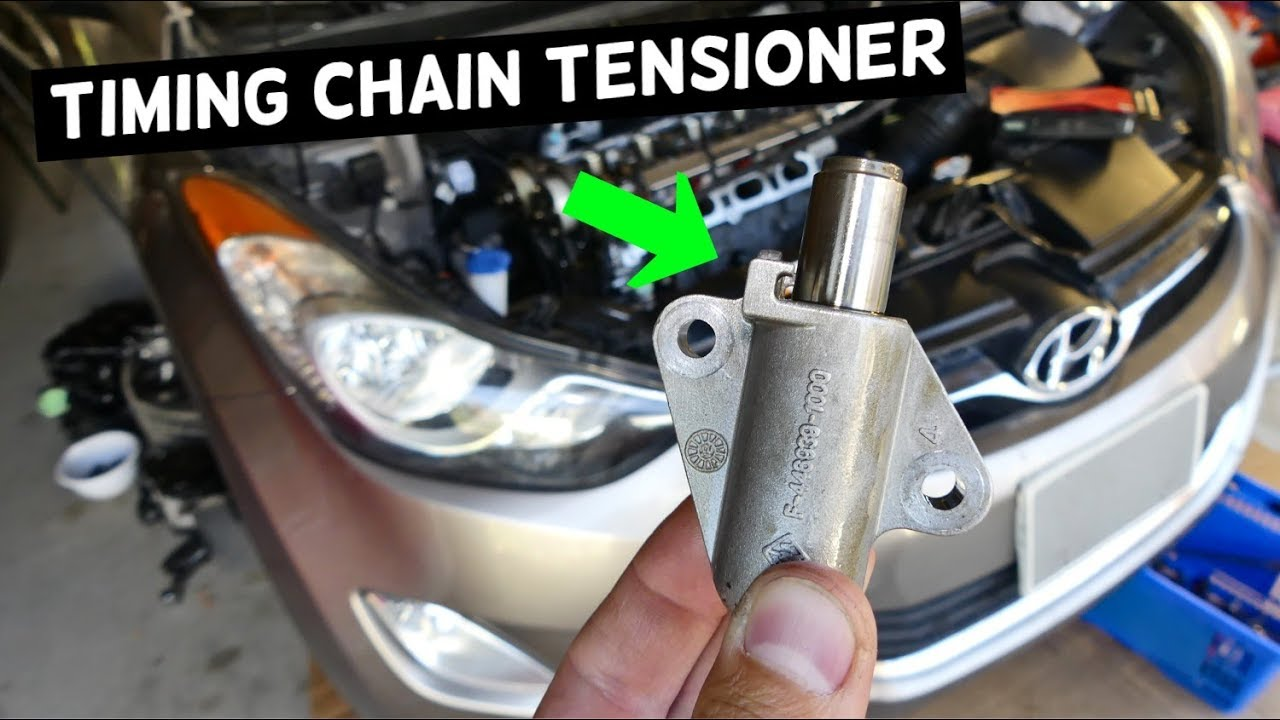 HOW TO REPLACE TIMING CHAIN TENSIONER ON HYUNDAI ELANTRA i30