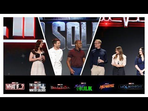 D23 Marvel Studios Panel   What If?; Falcon/Winter Soldier; WandaVision; Moon Knight; She-Hulk