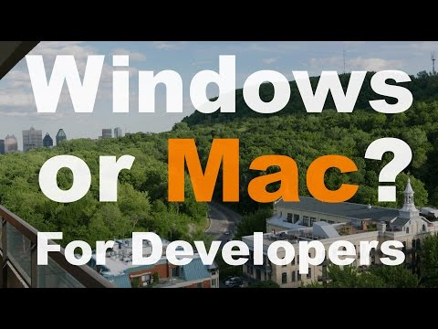 Mac or windows for Developers in 2016