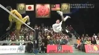 セパタクロー蹴in大阪6/7 日本代表VSマレーシア代表