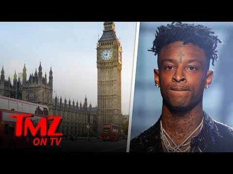 21 Savage Surrenders, Booked & Released for Felony Theft After Skipping Gig | TMZ TV