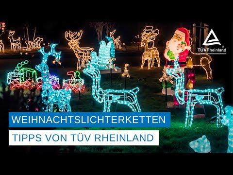 """TÜV Rheinland: LED-Technologie bei Weihnachtsschmuck bringt Sicherheit und Kostenersparnis / Beleuchtung für den Außenbereich muss Vermerk """"IP44"""" tragen / Netzteil mit GS-Zeichen verwenden"""