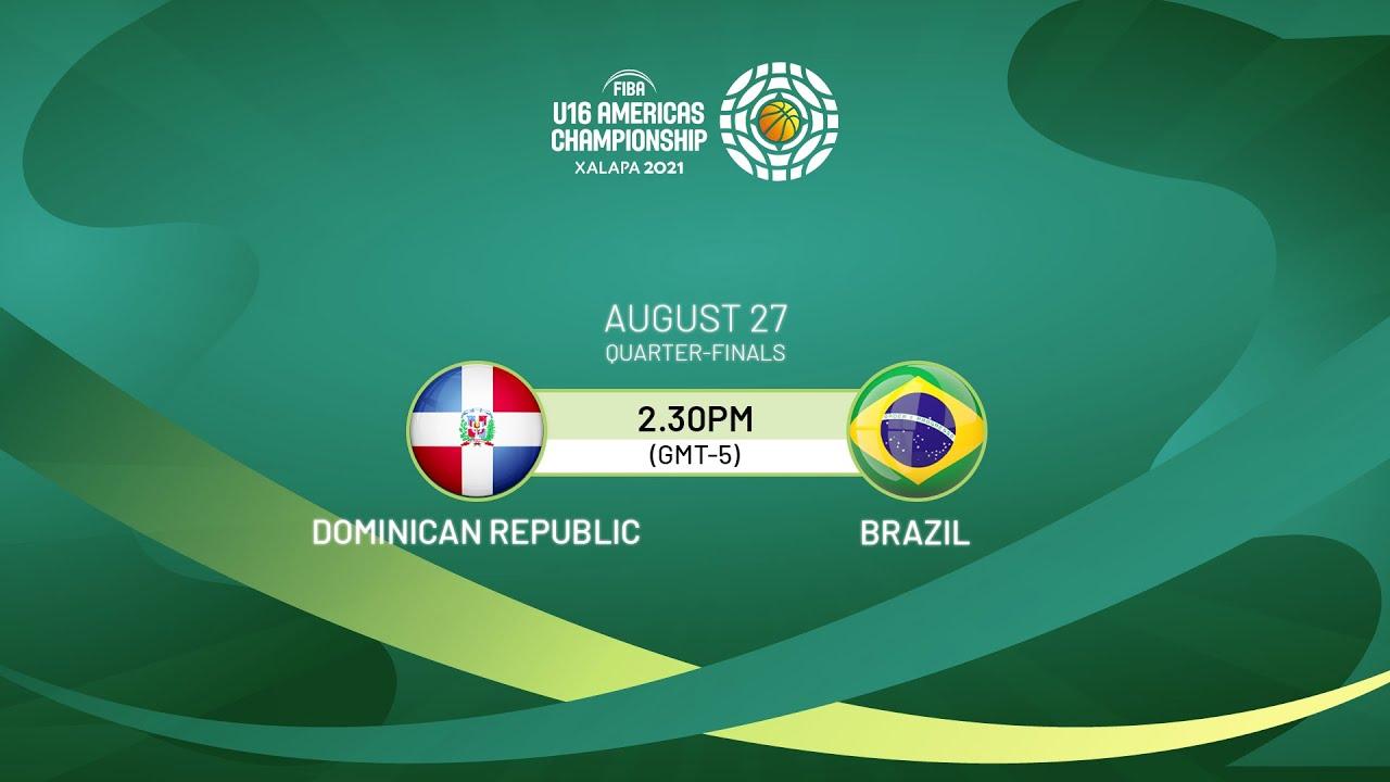 Download Quarter-Finals: Dominican Republic v Brazil   Full Game - FIBA U16 Americas Championship 2021