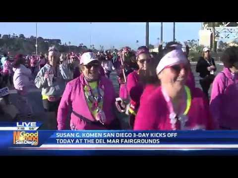 Susan G Komen 3 Day walk