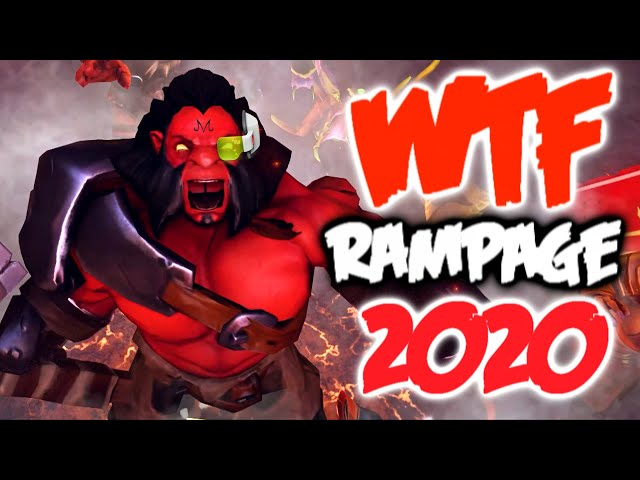 Dota 2 Best Rampages 2020