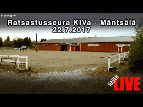 Ratsastusseura Kiva ry - Estekilpailut 1-taso 22.7.2017