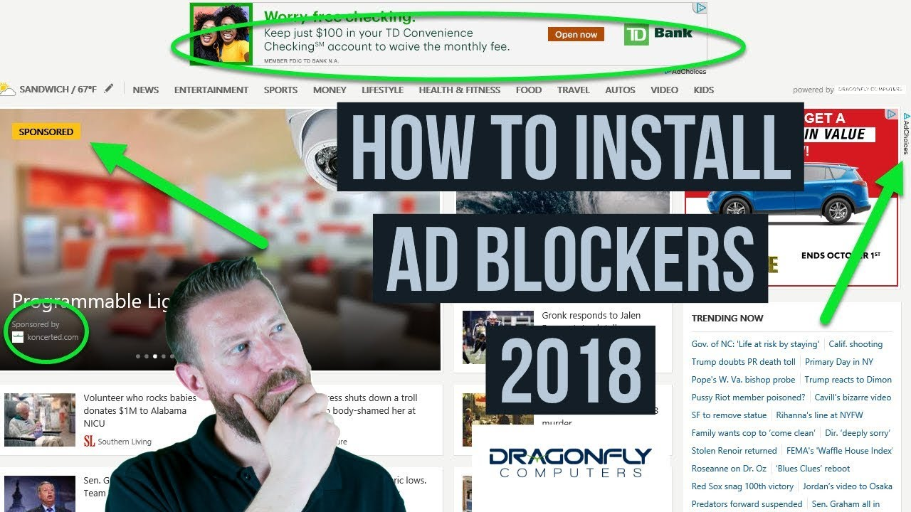 How to install Adblock Plus in Chrome and Firefox | Dragonfly Computers
