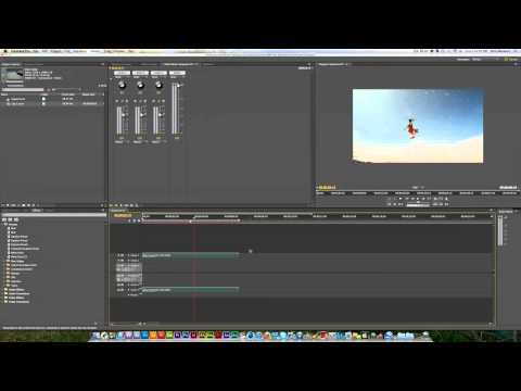 Premiere Pro | How To Speed Up/Slow Down Footage
