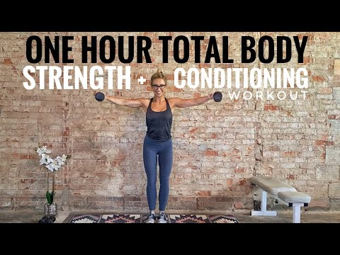 One Hour Strength + Conditioning Workout | Total Body