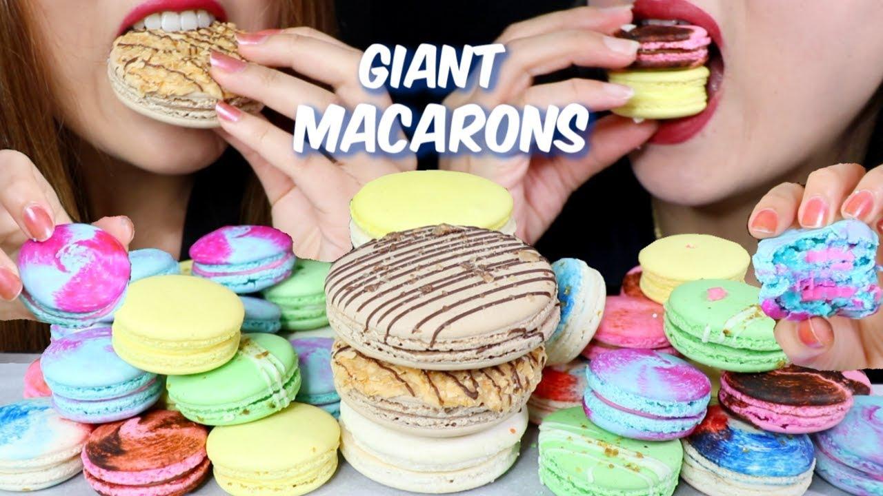 """Asmr Macaron Party Giant Macarons ˧ˆì¹´ë¡± ˦¬ì–¼ì'¬ìš´ë""""œ ˨¹ë°© Þカロン Kim Liz Asmr Youtube 1280 x 720 jpeg 92 кб. asmr macaron party giant macarons 마카롱 리얼사운드 먹방 マカロン kim liz asmr"""