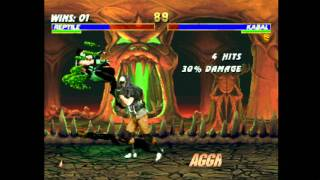 Classic Game Room - MORTAL KOMBAT TRILOGY for Playstation review