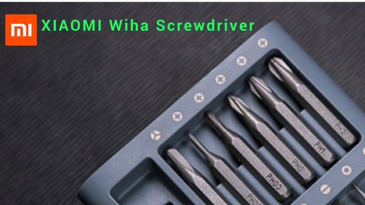 XIAOMI Wiha Precision Screwdriver Set   S2 Steel Repair Tools