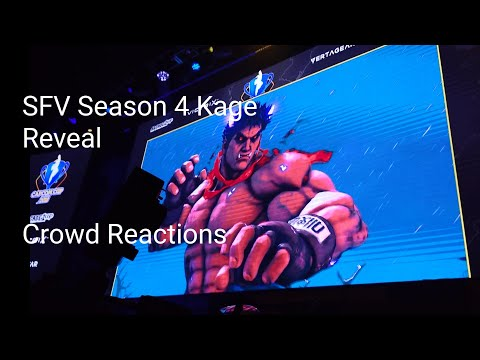 Street Fighter V  Kage  Crowd Reactions |