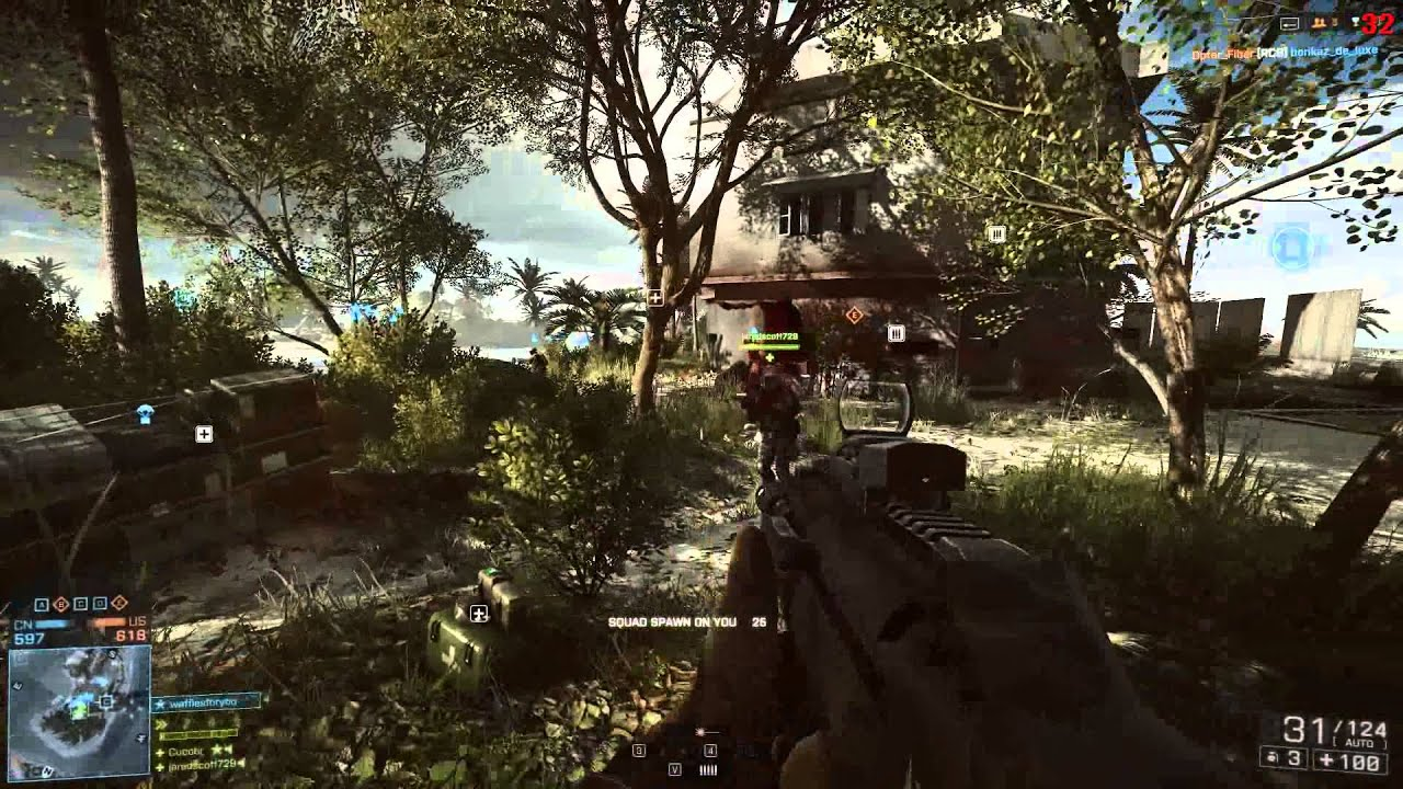Download Wallpaper 3840x2160 Battlefield 3, Game, Name, Soldier ...