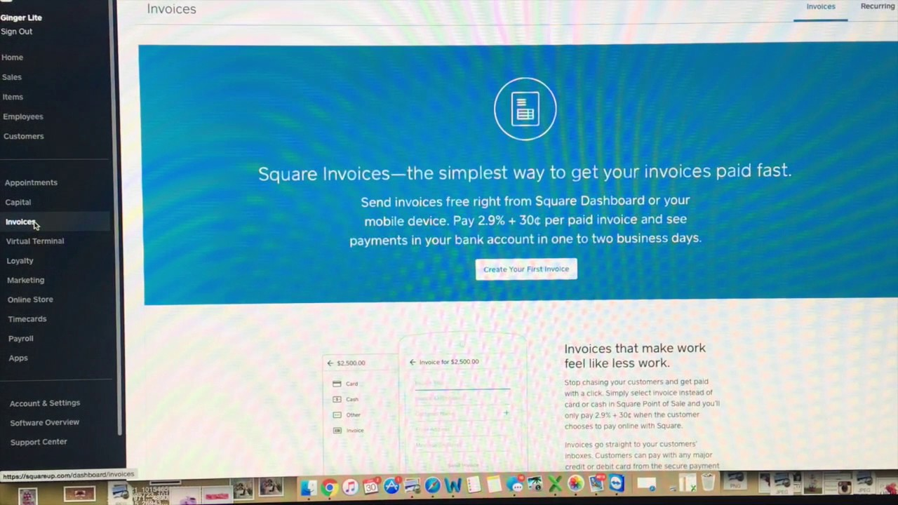 Square Inventory Import Tutorial YouTube - How to use square invoice