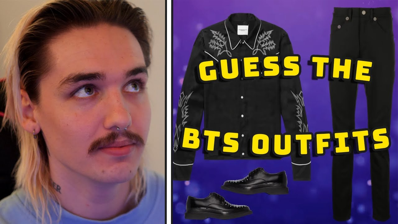 guessing the bts members by their outfit