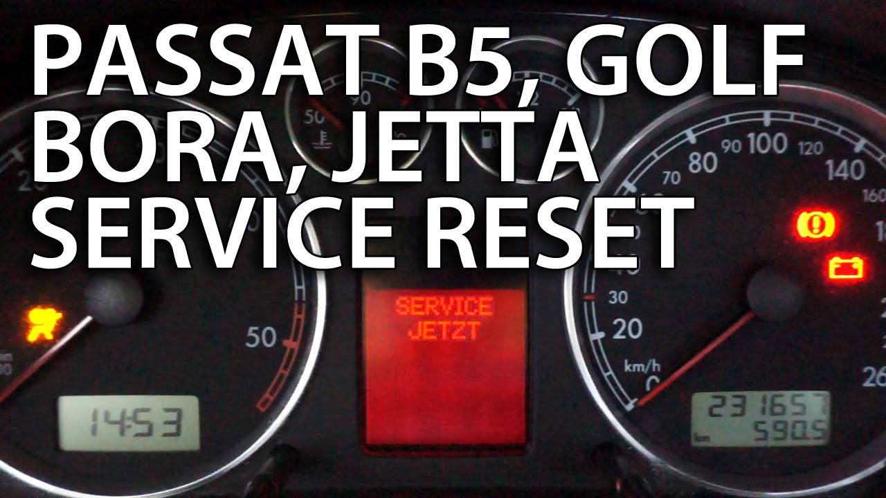 how to reset service reminder vw passat b5 golf bora jetta mk4 1 9 rh youtube com B5 Passat Stance B5 Passat Interior